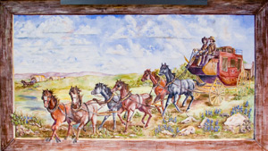 Stagecoach Mural